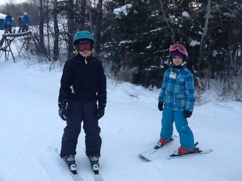 The kids tried out skiing over their Christmas break and really enjoyed it. Im so excited as we used to do this as a family when I was a kid with trips to the mountains every year. Perhaps now I can do that with my own kids too.